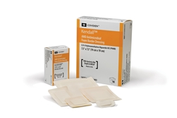 "AMD, Antimicrobial, Foam Dressing, Fenstrated 1"", 4mm Hole, 10/BX"