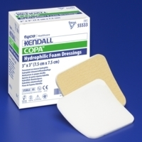 "Copa Island, Ultra Soft, Foam Dressing 4"" x 4"", 10/BX"