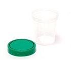 Medi-Pak, General Purpose Specimen Container, High Density Polyethylene, Screw-On, 4 oz/120 cc, NonSterile, 25/PK, 20PK/CS