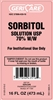 Sorbitol Solution, Laxative, 70%, Liquid, 16 oz