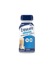Ensure Original Therapeutic Nutrition Oral Supplement, Vanilla, 8 oz. Bottle, Ready to Use, 24/CS