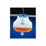 Curity Bedside Drainage Bag, with MONO-FLO SplashGuard, 2000 mL, 20/CS