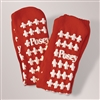 Slipper Socks Large Red, 1 Pair