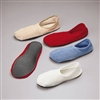 Slippers, non-skid, White, Below the Ankle, Adult Small