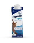 Ensure Chocolate Oral Supplement, 8 oz. Recloseable Tetra Carton, Ready to Use, 24/CS