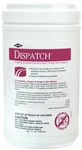 "Dispatch Disinfectant Towels with Bleach, Disposable, 8""x7"", 150/PK"