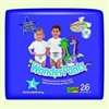 Diaper Wonder Training Pants, 3T-4T, Large, 26/PK 4PK/CS