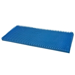 Duro-Med Convoluted Bed Pad, Blue, Queen Size