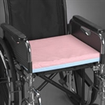 Wheelchair Cushion, Economy, Foam, Two Tone, 18X16X2""
