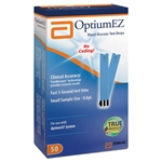 Blood Glucose Test Strips Optium EZ® 50/BX