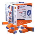 Pressure Activated Safety Lancets, Sterile, 21 gauge, 2.2 m, 100/BX, 10BX/CS