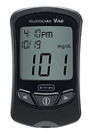 Glucocard Vital Blood Glucose Meter Kit, 7 Seconds, Stores Up To 250 Results, 14- and 30-Day Averaging, Automatic Coding
