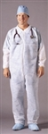 Medi-Pak Performance Fluid-Resistant Coverall, Large, White, Disposable, 25/CS