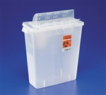 Multi Purpose Sharps Container In-Room, 1 Piece, 8 Quart