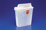 Multi Purpose Sharps Container In-Room, 1-Piece, 8 Quart