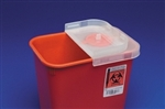 Multi Purpose Sharps Container, 1-Piece 1/2 Gallon