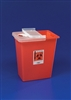 Sharps Container, Hinged Lid, 12 gallon
