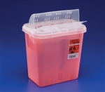 Multi Purpose Sharps Container, 1-Piece, 2 Gallon