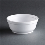 Insulated Foam Bowls, 8 oz, White, 1000/CS