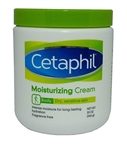 Cetaphil Moisturizing Cream for Dry, Sensitive Skin, Fragrance Free, 20 oz