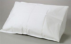 "Disposable Tissue / Poly Pillowcases, White, 21""X30"", 100/CS"