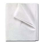 Tidi Drape Sheets, 2-Ply, White, 40x60, 100/CS