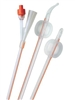Foley Catheter, Cysto-Care, 2-Way, Standard Tip, 18 Fr, 15CC, 100% Silicone, 5/BX