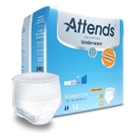 Attends Advanced Adult Absorbent Underwear, Pull On, X-Large, Disposable, Heavy Absorbency, 14/PK, 4PKS/CS