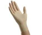 Ambitex Latex Exam Gloves, Powder-Free, Non-Sterile, Small, Cream, 100/BX 10 BXS/CS