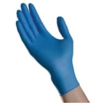 Ambitex Nitrile Exam Select Gloves, Powder Free, X-Large, Blue, 100/BX, 10BX/CS