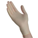 Ambitex Stretch Vinyl Supreme XP Exam Gloves, Powder-Free, Non-Sterile, Large, Cream, 100/BX, 10BX/CS