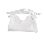 "Waterproof Plastic Bibs, WHITE, 15""X20"", 500/CS"
