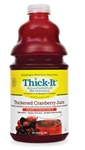 Resource Thick-It Cranberry Juice, 64 oz, Ready-To-Use (Honey Consistency), 4/case