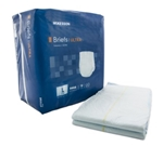 McKesson Ultra Adult Incontinent Brief, Tab Closure, Large, Disposable, Heavy Absorbency, 18/PK 4 PK/CS