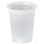 Lumina Drinking Cups, 5 oz., Clear, Plastic, 2500/CS