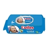 "Cuties, Baby Wipes, 6.7 x 7.7"", Lavender, Flip Top, Soft Pack, Scented, 78/PK 12PK/CS"