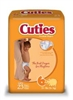 Baby Diapers, Cuties, Over 35 lbs., Size 6, 23/PK, 4PK/CS