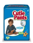 Prevail Cutie Pants, Training Pants for Boys, 3T-4T, 32-40 lbs., 23/BG 4BG/CS