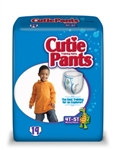 Prevail Cutie Pants, Training Pants for Boys, 4T-5T, 38+ lbs., 19/BG 4BG/CS