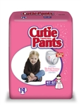 Prevail Cutie Pants, Training Pants for Girls, 4T-5T, 38+ lbs.,19/BG 4BG/CS
