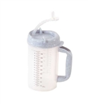 Medegen Insulated Pitcher Cold, 32 oz., Translucent