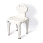 Invacare Bariatric Shower Chair with Back