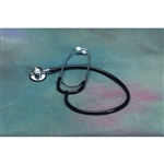 Invacare, Dual-head Stethoscope, Black