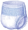 "Briefs, Pull-On, Naps, 33-44"", Medium, Blue, 20/PK 4PK/CS"