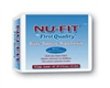 "Brief Nu-Fit, Limited Mat Body Shaped, 45-58"", Large, Moderate Absorbency, Blue, 18/PK, 4PK/CS"