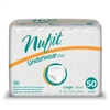 "Brief, Nu-Fit, Protective Underwear, 44-58"", Large, 50EA/PK 2PK/CS"