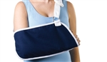"Arm Sling Immobilizer, Deep Pocket, Neck Pad, Navy, Small, 13.5""x7"""