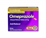 Omeprazole, 20 MG Tablets, 42/BX (Compare to Prilosec)