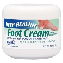 Deep Healing Foot Cream, 4 oz. Jar