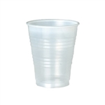 3 oz. Translucent Plastic Drinking Cups, 100/PK 25PK/CS